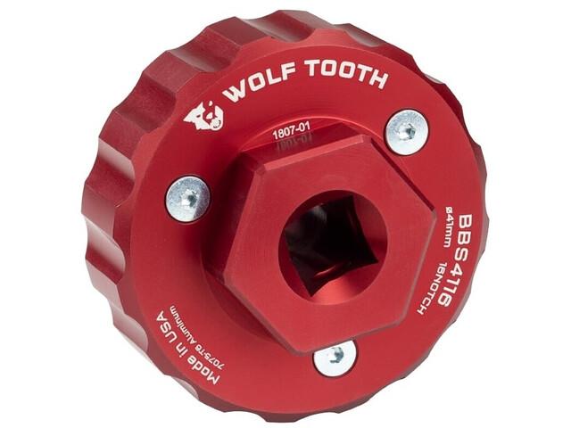 Wolf Tooth BBS4416 Démonte Boîtier De Pédalier, red